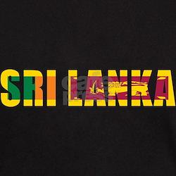 Sri Lanka Black T-Shirt