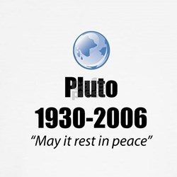 Pluto Rest in Peace Shirt