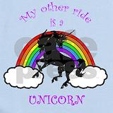 Unicorn rainbow onesie Baby Bodysuits