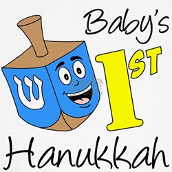Babys First Hanukkah T