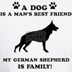 German Shepherd Dog Breed Designs Shirt