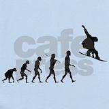 Snowboarding Baby Bodysuits
