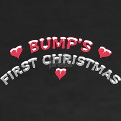 Bumps First Christmas dark T-Shirt