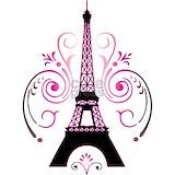Paris swirl Pajamas & Loungewear