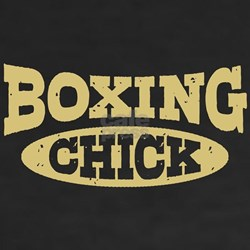 Boxing Chick Shirt