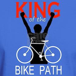 """King of the Bike Path"" T Shirt"