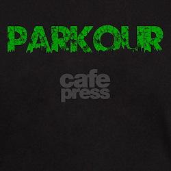 Green PARKOUR, Aged, T-Shirt