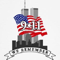 Women's Never Forget 9-11 Cap Sleeve T-Shirt
