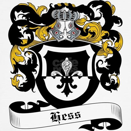Hess Coat Of Arms Throw Pillow By Familycoats