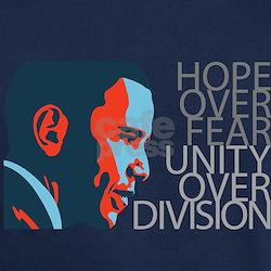 Obama - Red & Blue T-Shirt