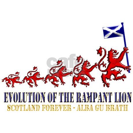 Rampant Lion Evolution Throw Blanket By Scottishsportsgear