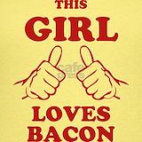 Eat bacon Tank Tops