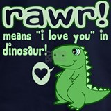 Rawr means i love you in dinosaur Sweatshirts & Hoodies