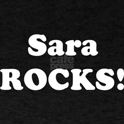 Sara Rocks! Black T-Shirt