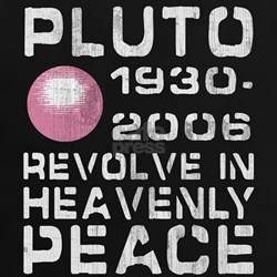 Pluto Revolve In Heavenly Peace Tee