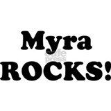 Myra Rocks! Small Mug
