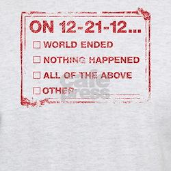 End of World Checklist T-Shirt