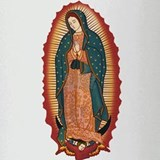 Virgin Of Guadalupe Drinking Glass