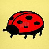 Lady bug Tank Tops
