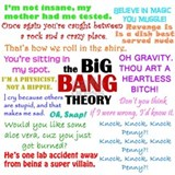The big bang theory apron Aprons