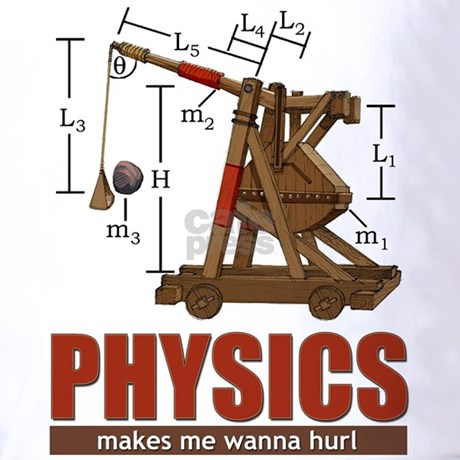 A counterweight s potential energy is transferred into a