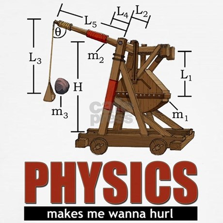 Physics trebuchet catapult baseball jersey by wannahurl for Catapult design plans for physics