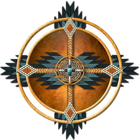 Native American Mandala 05 Throw Blanket By Naumaddicarts
