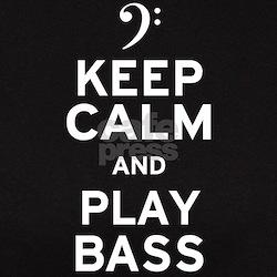 Keep Calm and Play Bass Tee