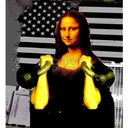 Mona Lisa Hits the Bells Shirt