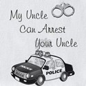 My uncle police Baby Bibs