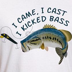I Kicked Bass Shirt