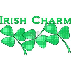 Irish Charm Dotted Shamrock Shirt