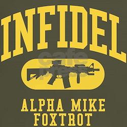 Infidel M4 Carbine AMF T-Shirt