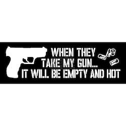 GUNS N ROSES Sticker Decal *2 SIZES* Vinyl Bumper Window ... |Gun Bumper Stickers