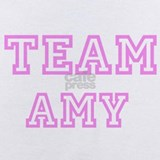 Team amy Baby Bodysuits