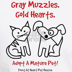 Gray Muzzles T-shirt T-Shirt