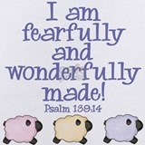 Fearfully and wonderfully made Baby Bodysuits