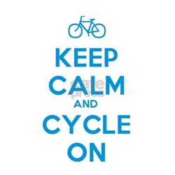 Keep Calm and Cycle On Tee