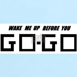 Wake Me Up Before You GO-GO - Women's Pink T-Shirt