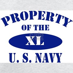 Property of the US Navy Ash Grey T-Shirt