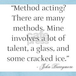 On Method Acting Women's Pink T-Shirt