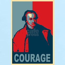 """Patrick Henry """"Courage"""" T-Shirt"""
