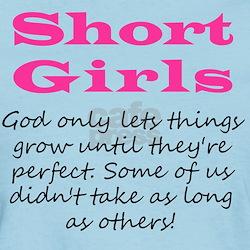 Short Girls T-Shirt (Pastel)