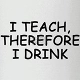 Unique Teacher Drinking Glass