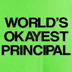 World's Okayest Principal T-Shirt