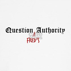 Question Fred Authority Shirt