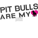 Pit Bulls Are My Love Water Bottle