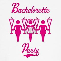 Bachelorette Party (Hen Night), magenta T-Shirt