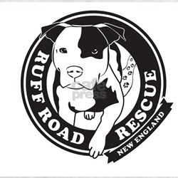 Ruff Road Rescue New England logo T-Shirt