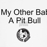 Baby & pit bull Maternity